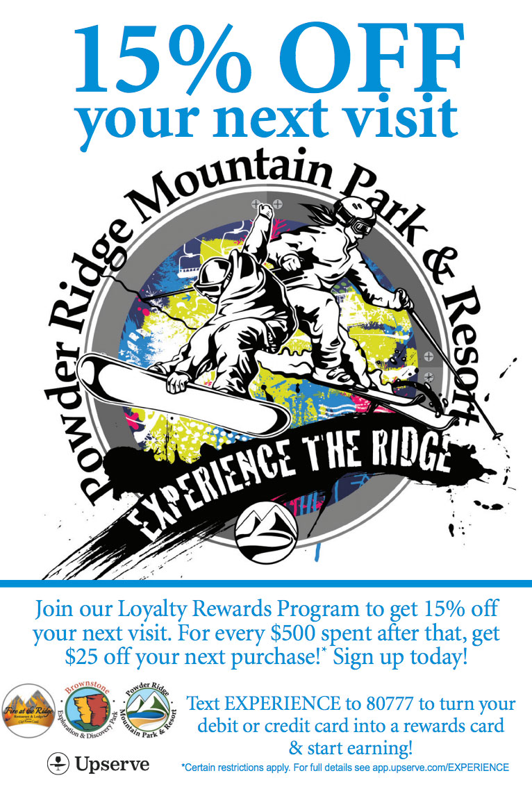 Loyalty Program Powder Ridge