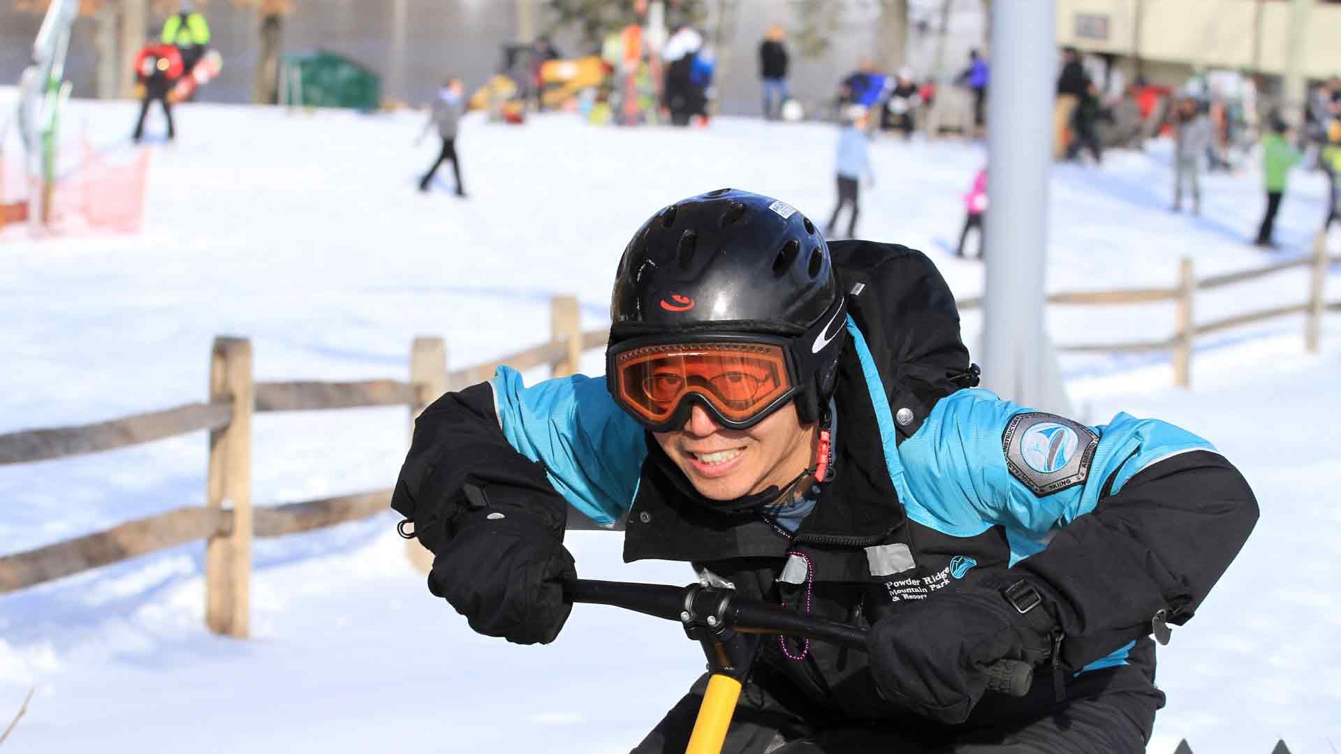 snowbiking - powder ridge mountain park & resort