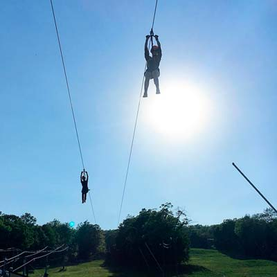 Powder Ridge Zip Lines