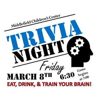 Middlefield Children's Center Trivia Night