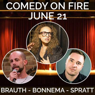Comedy on Fire