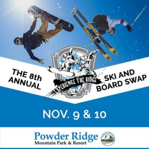 ski board swap powder ridge