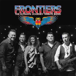 Frontiers band members and logo